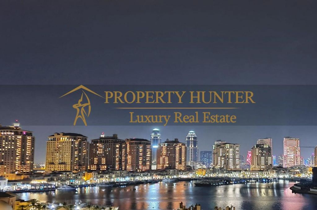 Residential Developed 1 Bedroom S/F Apartment  for sale in The-Pearl-Qatar , Doha-Qatar #6994 - 1  image