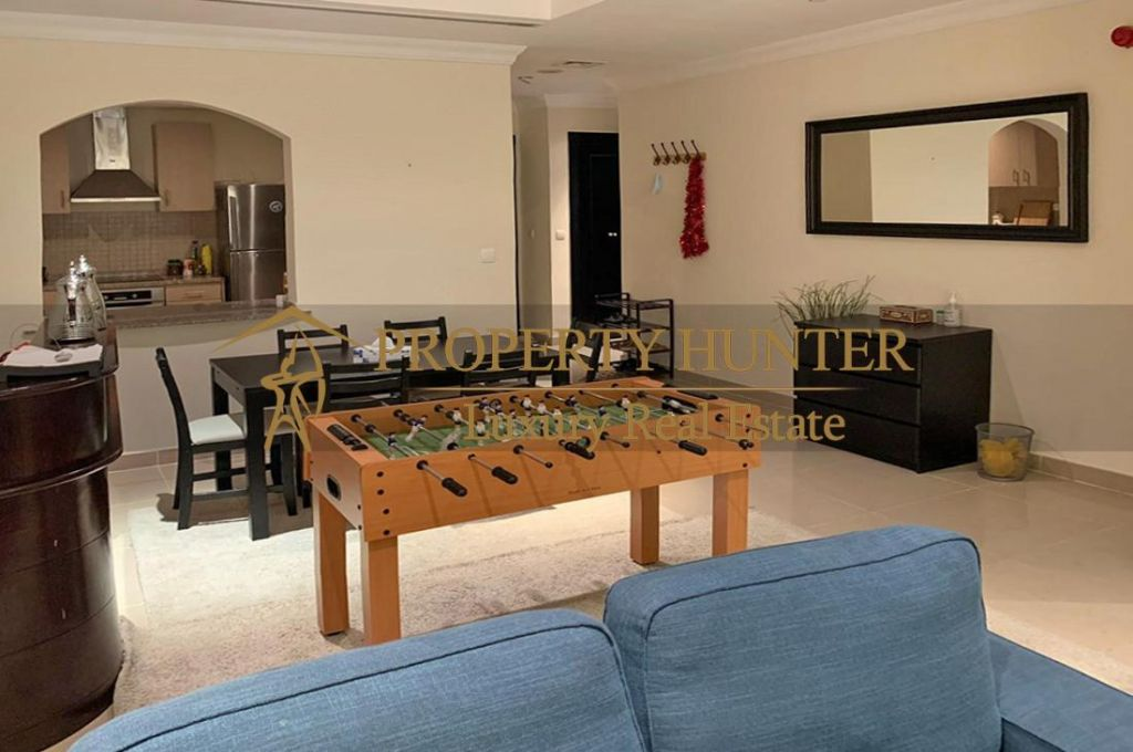 Residential Developed 1 Bedroom S/F Apartment  for sale in The-Pearl-Qatar , Doha-Qatar #6994 - 7  image