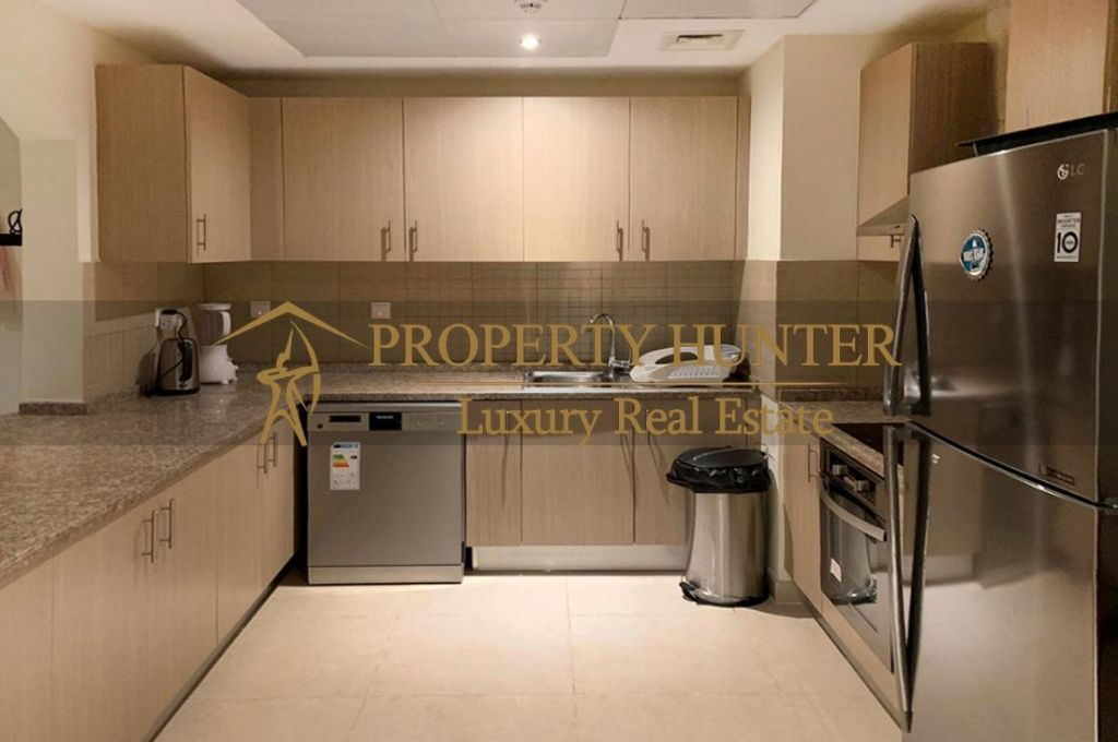 Residential Developed 1 Bedroom S/F Apartment  for sale in The-Pearl-Qatar , Doha-Qatar #6994 - 8  image