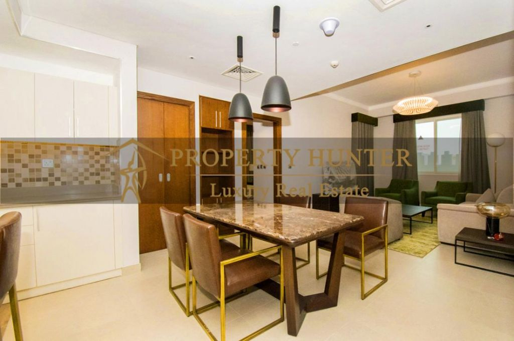 Residential Developed 1 Bedroom S/F Apartment  for sale in The-Pearl-Qatar , Doha-Qatar #7007 - 1  image