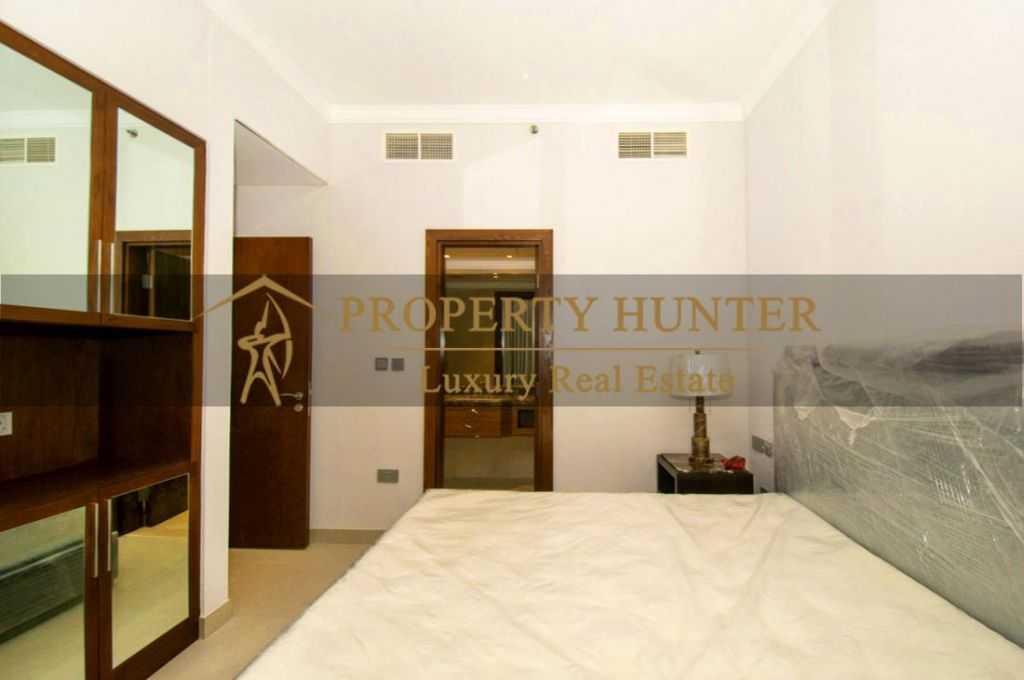 Residential Developed 1 Bedroom S/F Apartment  for sale in The-Pearl-Qatar , Doha-Qatar #7007 - 6  image