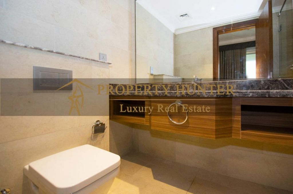 Residential Developed 1 Bedroom S/F Apartment  for sale in The-Pearl-Qatar , Doha-Qatar #7007 - 7  image