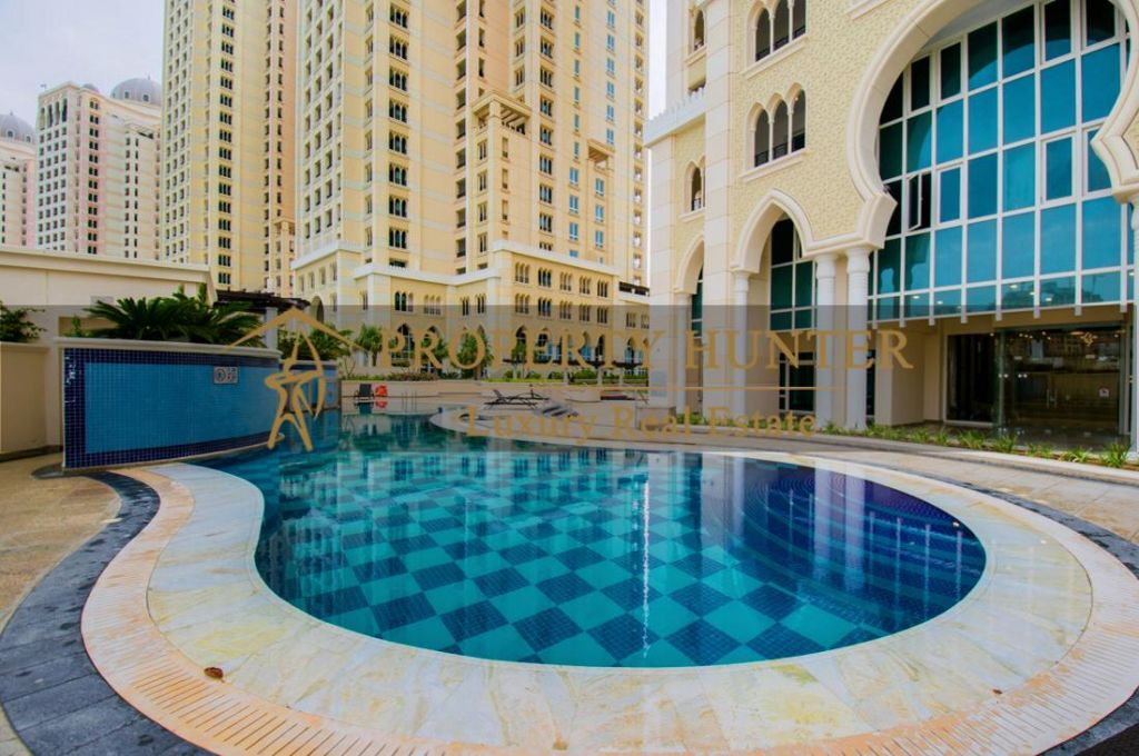 Residential Developed 1 Bedroom S/F Apartment  for sale in The-Pearl-Qatar , Doha-Qatar #7007 - 8  image