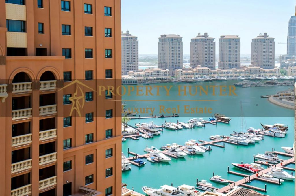 Residential Developed 1 Bedroom S/F Apartment  for sale in The-Pearl-Qatar , Doha #7013 - 9  image