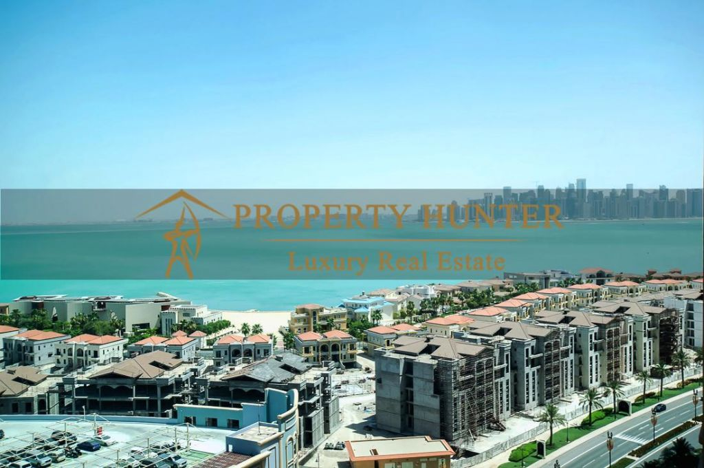 Residential Developed 1 Bedroom S/F Apartment  for sale in The-Pearl-Qatar , Doha-Qatar #7013 - 1  image