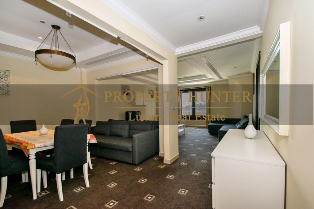 Residential Developed 1 Bedroom S/F Apartment  for sale in The-Pearl-Qatar , Doha-Qatar #7013 - 3  image