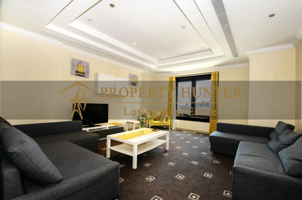 Residential Developed 1 Bedroom S/F Apartment  for sale in The-Pearl-Qatar , Doha-Qatar #7013 - 4  image