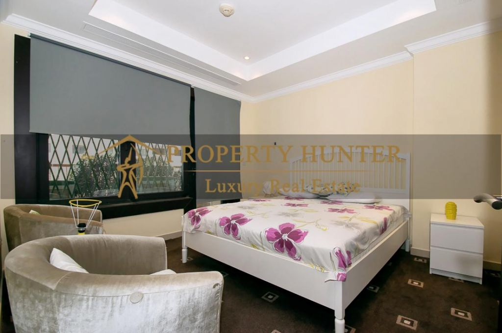 Residential Developed 1 Bedroom S/F Apartment  for sale in The-Pearl-Qatar , Doha-Qatar #7013 - 7  image
