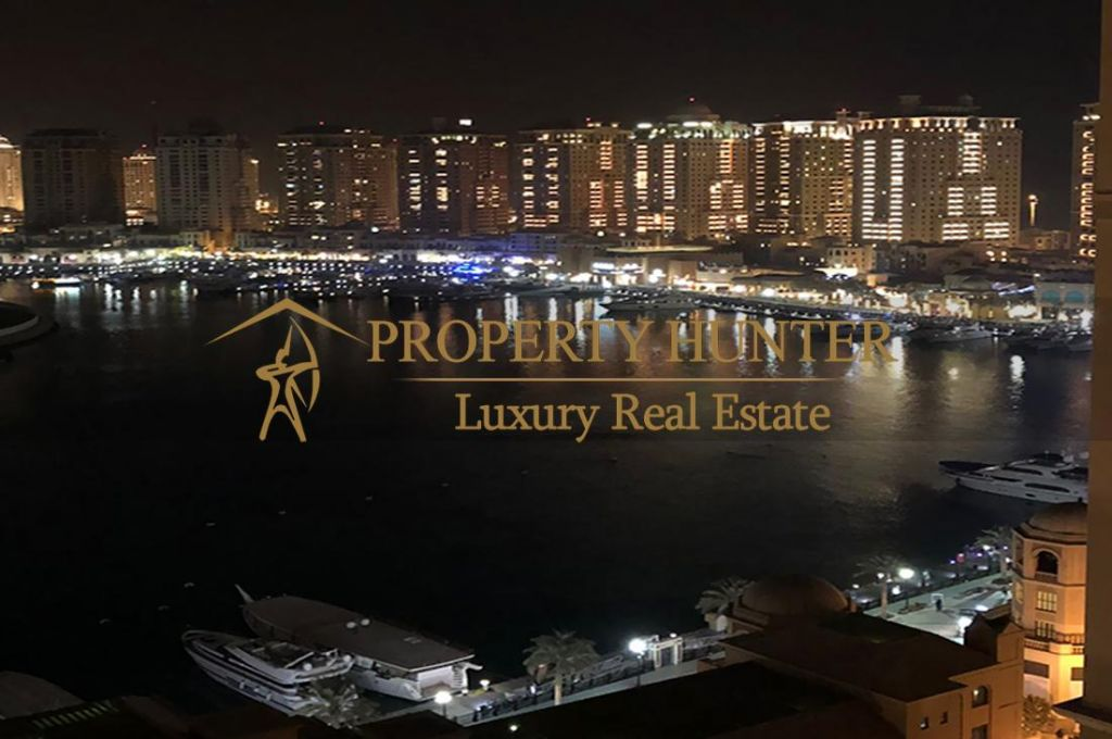 Residential Developed 1 Bedroom S/F Apartment  for sale in The-Pearl-Qatar , Doha #7019 - 1  image