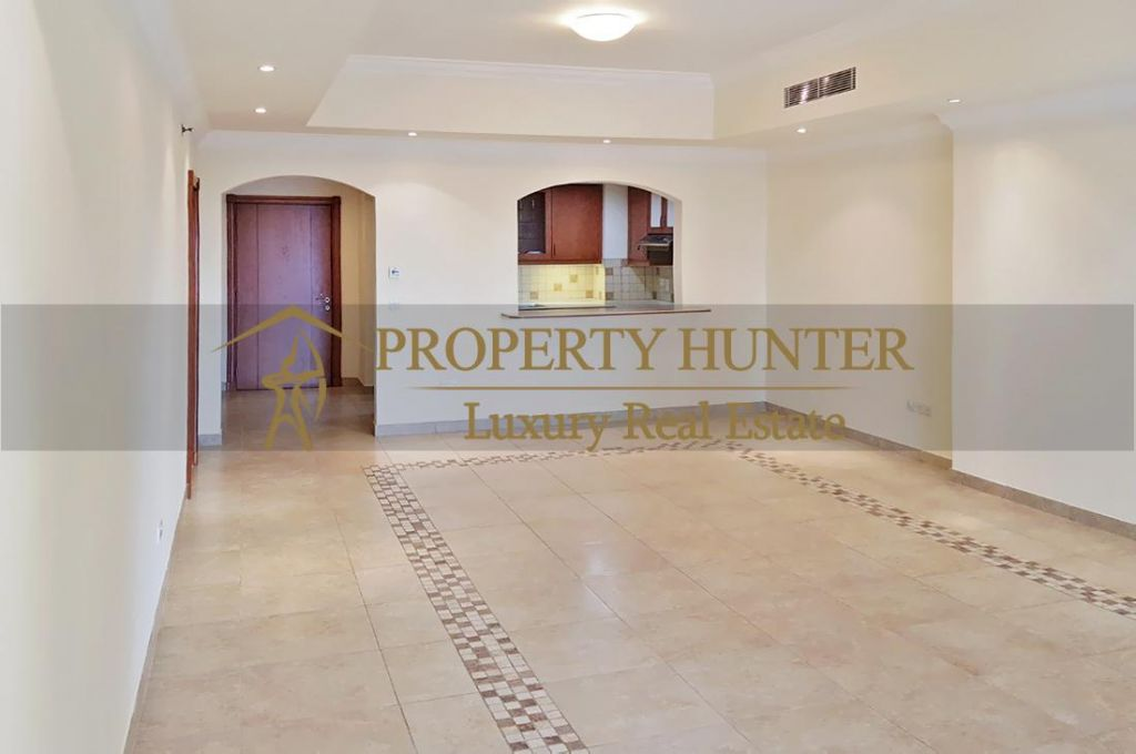 Residential Developed 1 Bedroom S/F Apartment  for sale in The-Pearl-Qatar , Doha-Qatar #7040 - 3  image