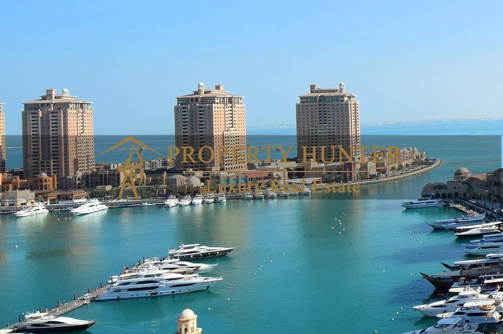 Residential Developed 1 Bedroom S/F Apartment  for sale in The-Pearl-Qatar , Doha-Qatar #7045 - 1  image