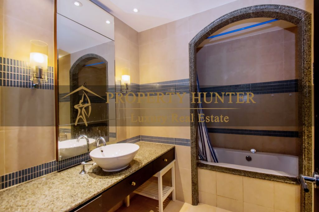 Residential Developed 1 Bedroom S/F Apartment  for sale in The-Pearl-Qatar , Doha-Qatar #7045 - 8  image