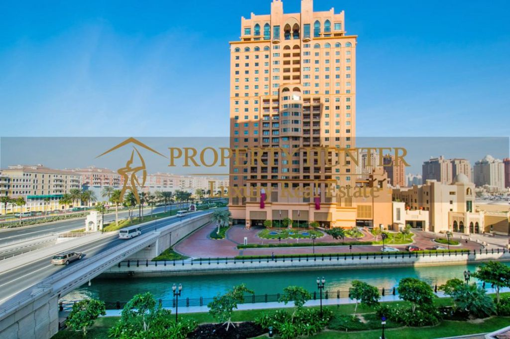 Residential Developed 1 Bedroom S/F Apartment  for sale in The-Pearl-Qatar , Doha #7060 - 9  image