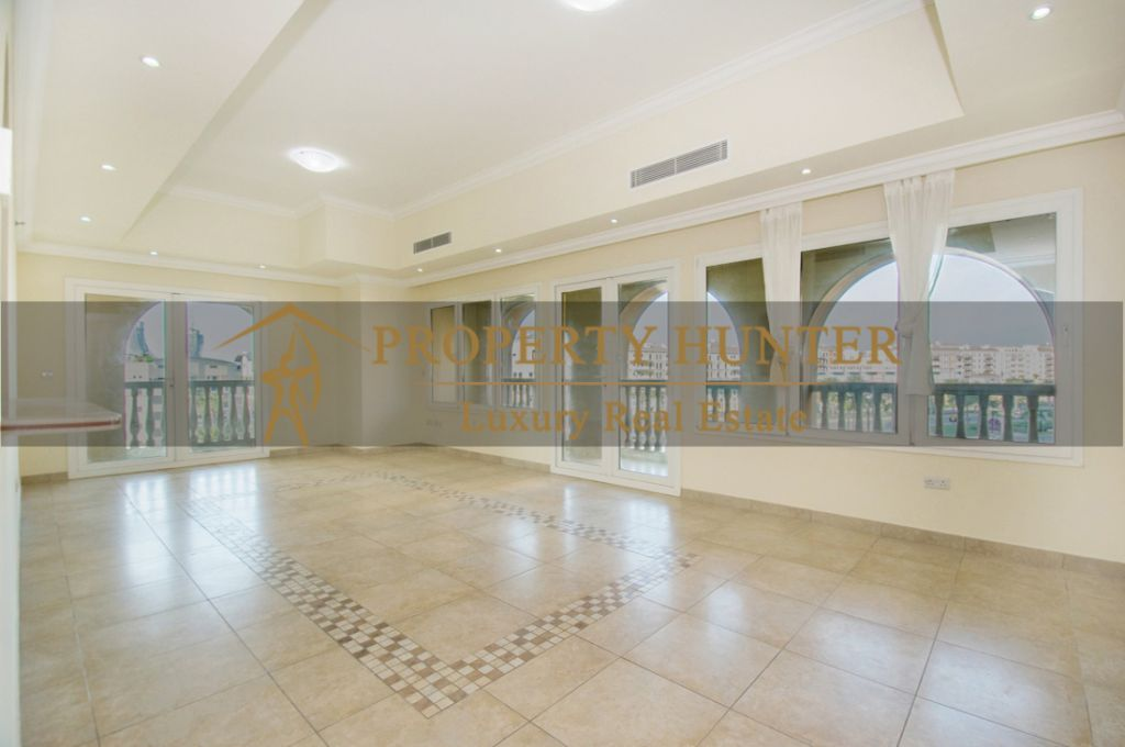 Residential Developed 1 Bedroom S/F Apartment  for sale in The-Pearl-Qatar , Doha #7060 - 3  image