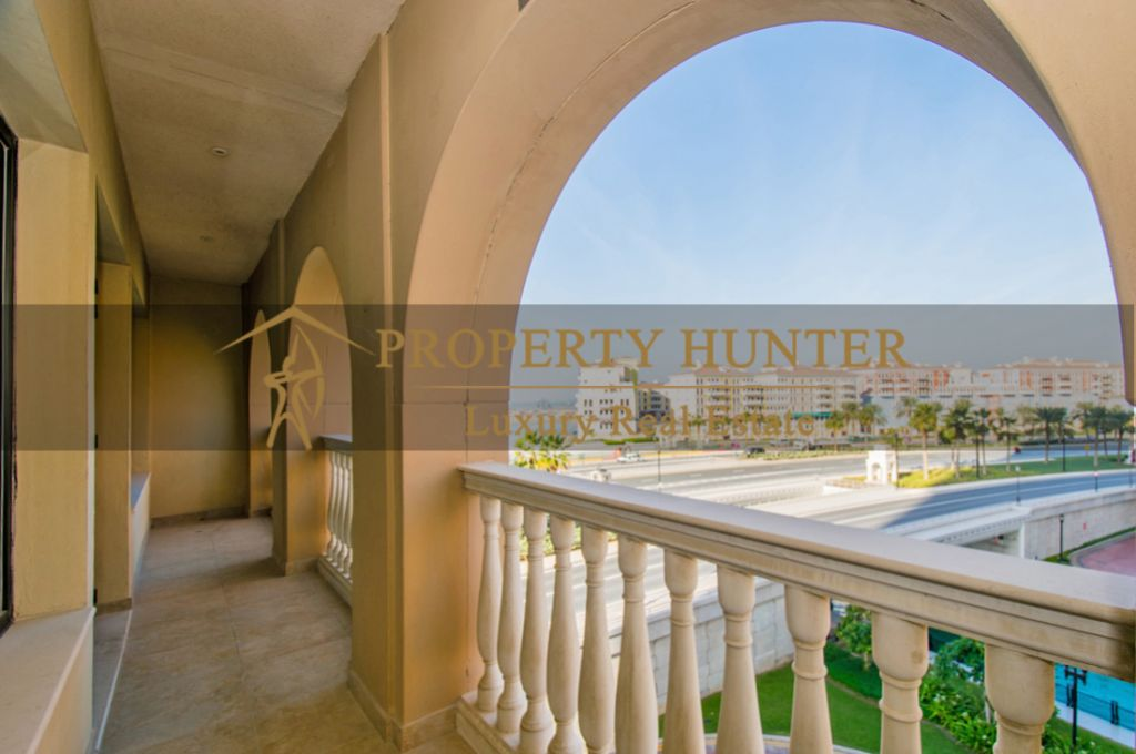 Residential Developed 1 Bedroom S/F Apartment  for sale in The-Pearl-Qatar , Doha #7060 - 10  image