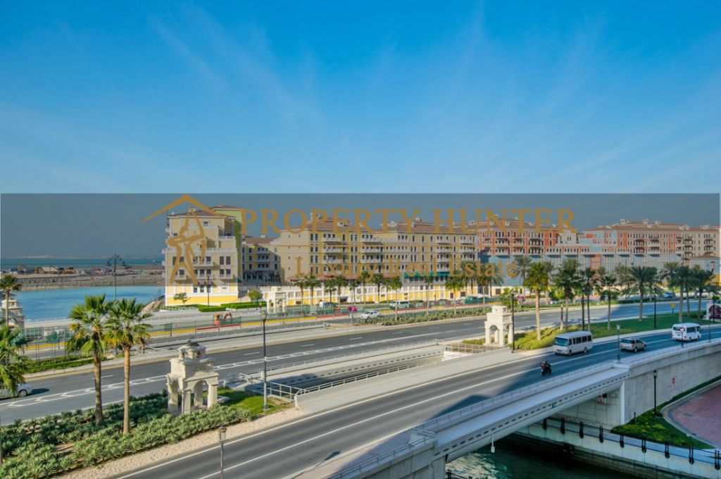 Residential Developed 1 Bedroom S/F Apartment  for sale in The-Pearl-Qatar , Doha #7060 - 1  image