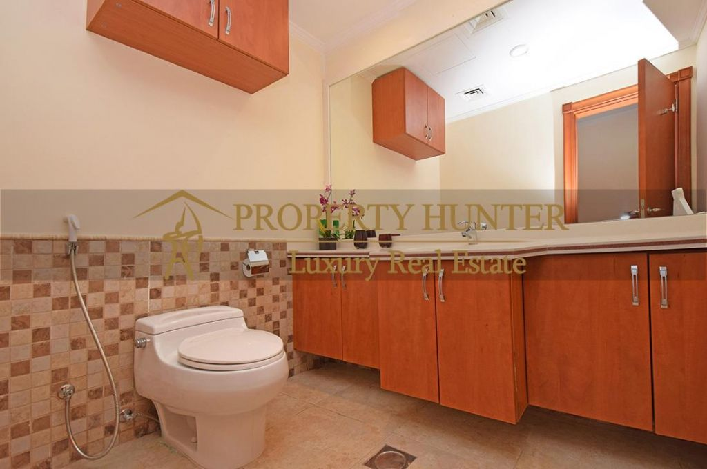 Residential Developed 1 Bedroom S/F Apartment  for sale in The-Pearl-Qatar , Doha-Qatar #7063 - 6  image