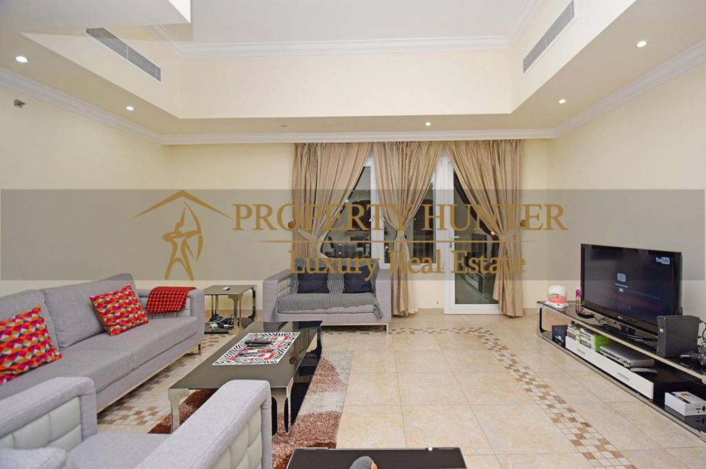 Residential Developed 1 Bedroom S/F Apartment  for sale in The-Pearl-Qatar , Doha-Qatar #7063 - 2  image