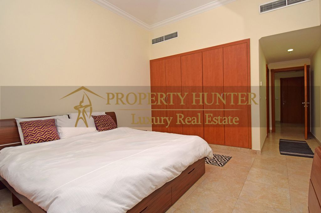 Residential Developed 1 Bedroom S/F Apartment  for sale in The-Pearl-Qatar , Doha-Qatar #7063 - 5  image