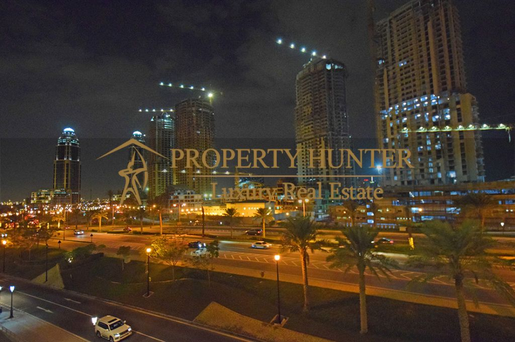 Residential Developed 1 Bedroom S/F Apartment  for sale in The-Pearl-Qatar , Doha-Qatar #7063 - 1  image