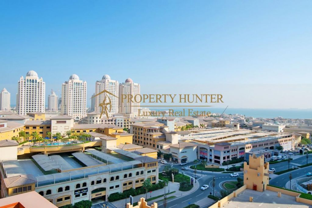 Residential Developed 1 Bedroom S/F Apartment  for sale in The-Pearl-Qatar , Doha-Qatar #7076 - 1  image