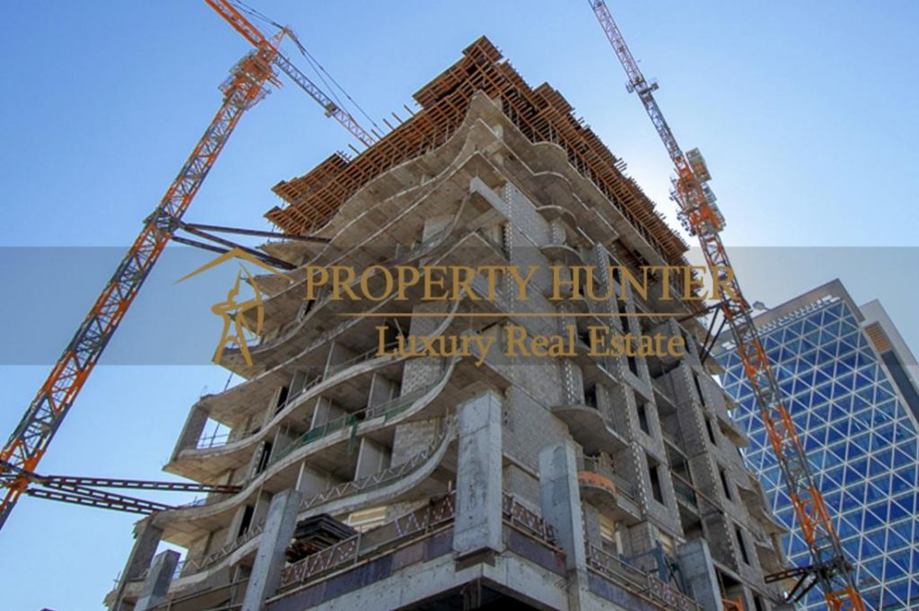 Residential Off Plan 2 Bedrooms F/F Apartment  for sale in Lusail , Doha-Qatar #7077 - 2  image