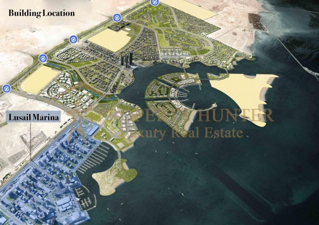 Residential Off Plan 2 Bedrooms F/F Apartment  for sale in Lusail , Doha-Qatar #7077 - 4  image