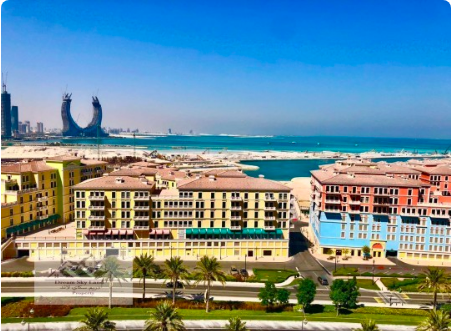 Residential Property 2 Bedrooms U/F Apartment  for rent in The-Pearl-Qatar , Doha-Qatar #7195 - 1  image