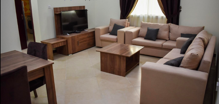 Residential Property 1 Bedroom F/F Apartment  for rent in Doha-Qatar #7284 - 1  image