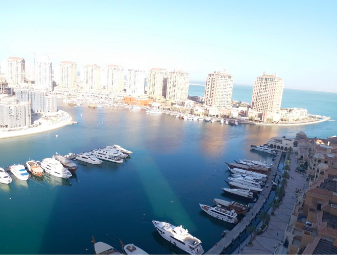Residential Property 3 Bedrooms S/F Apartment  for rent in The-Pearl-Qatar , Doha-Qatar #7480 - 1  image