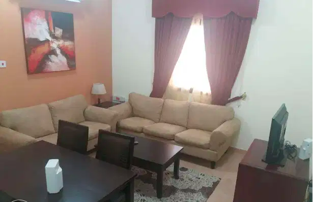 Residential Property 1 Bedroom F/F Apartment  for rent in Al-Dafna , Doha-Qatar #7494 - 1  image