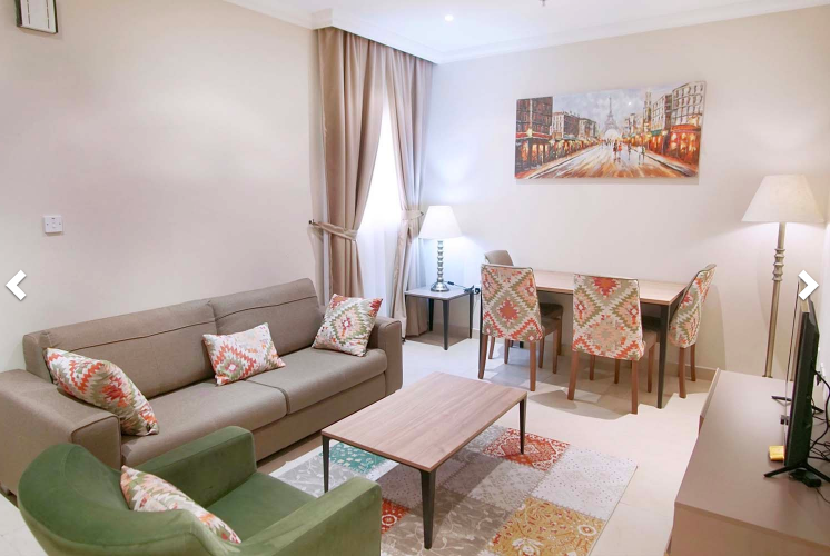 Residential Property 1 Bedroom F/F Apartment  for rent in Doha-Qatar #7630 - 1  image