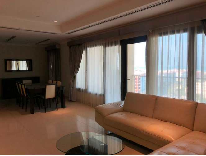 Residential Property 2 Bedrooms F/F Apartment  for rent in The-Pearl-Qatar , Doha-Qatar #7718 - 1  image