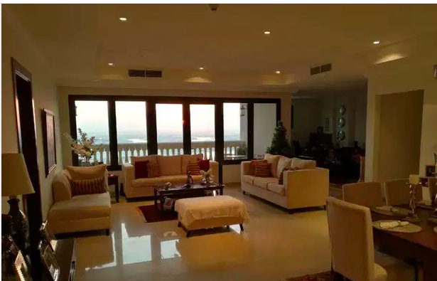 Residential Property 3 Bedrooms S/F Apartment  for rent in The-Pearl-Qatar , Doha-Qatar #7766 - 1  image