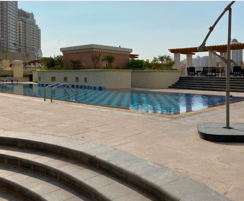 Residential Developed 1 Bedroom F/F Apartment  for sale in The-Pearl-Qatar , Doha-Qatar #7810 - 1  image