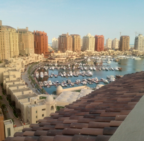 Residential Property 1 Bedroom U/F Apartment  for rent in The-Pearl-Qatar , Doha-Qatar #7854 - 1  image