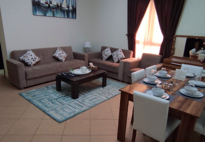 Residential Property 2 Bedrooms F/F Apartment  for rent in Al-Muntazah , Doha-Qatar #7860 - 1  image