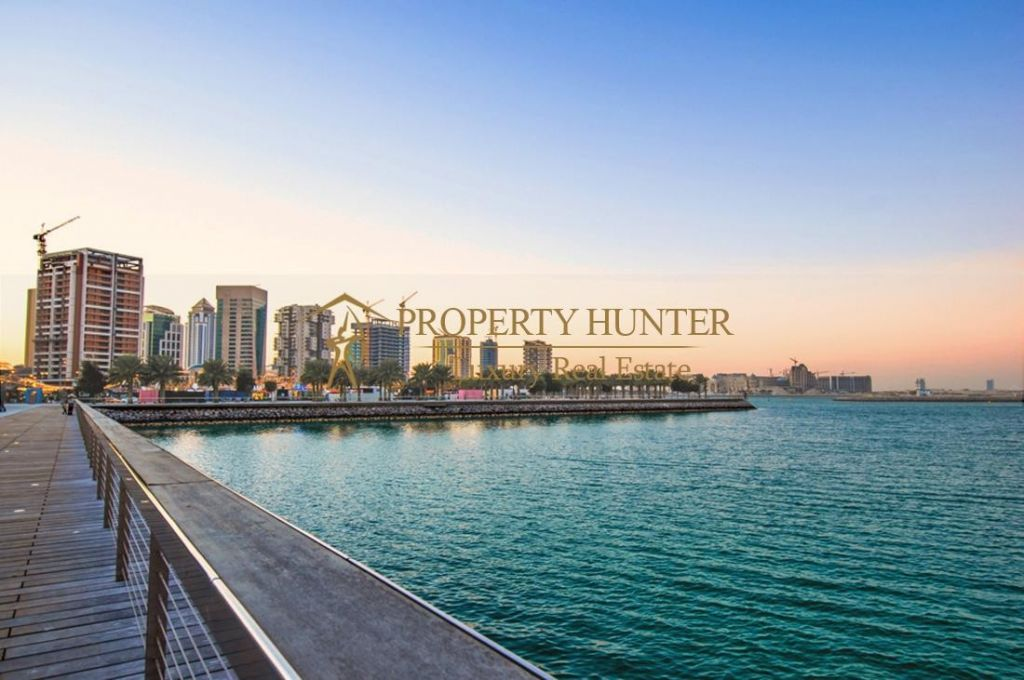 Residential Shell & Core 2 Bedrooms F/F Apartment  for sale in Lusail , Doha-Qatar #7892 - 1  image