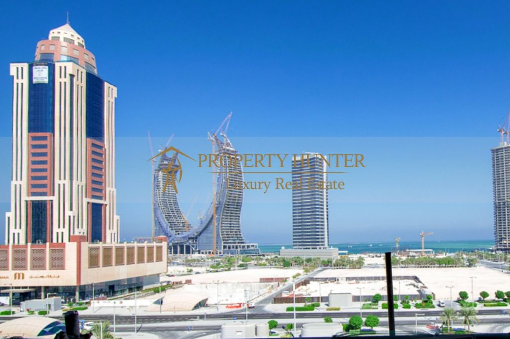 Residential Shell & Core 2 Bedrooms F/F Apartment  for sale in Lusail , Doha-Qatar #7892 - 2  image