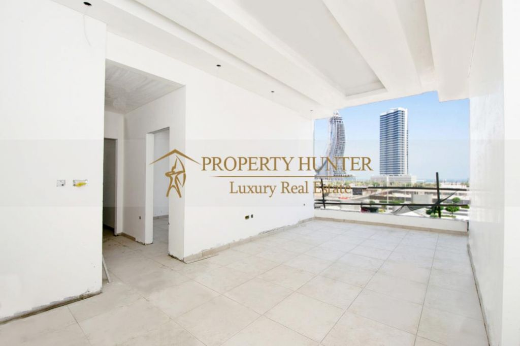 Residential Shell & Core 2 Bedrooms F/F Apartment  for sale in Lusail , Doha-Qatar #7892 - 4  image