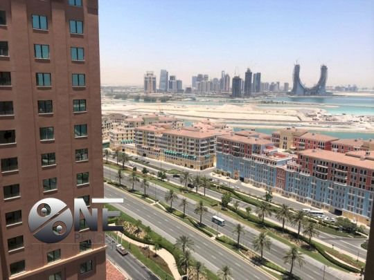 Residential Property 2 Bedrooms F/F Apartment  for rent in The-Pearl-Qatar , Doha-Qatar #7902 - 1  image