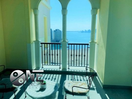 Residential Property 2 Bedrooms F/F Apartment  for rent in The-Pearl-Qatar , Doha-Qatar #7905 - 1  image