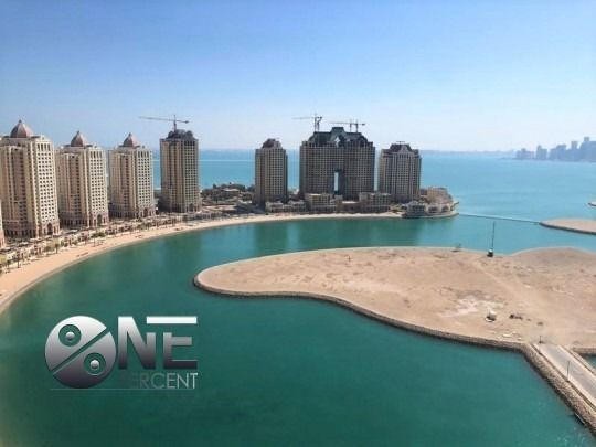Residential Property 3 Bedrooms F/F Apartment  for rent in The-Pearl-Qatar , Doha-Qatar #7906 - 1  image