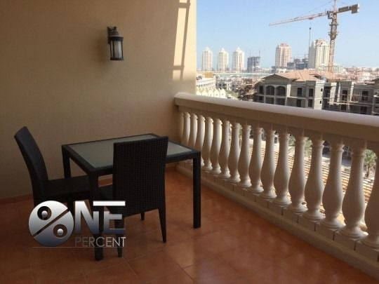 Residential Property 2 Bedrooms F/F Apartment  for rent in The-Pearl-Qatar , Doha-Qatar #7914 - 1  image