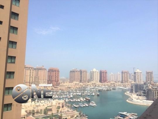 Residential Property 2 Bedrooms F/F Apartment  for rent in The-Pearl-Qatar , Doha-Qatar #7917 - 1  image