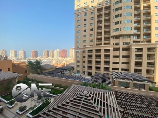 Residential Property 1 Bedroom S/F Apartment  for rent in The-Pearl-Qatar , Doha-Qatar #7918 - 1  image
