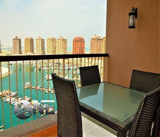 Residential Property 2 Bedrooms F/F Apartment  for rent in The-Pearl-Qatar , Doha-Qatar #7920 - 1  image
