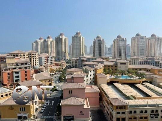 Residential Property 2 Bedrooms S/F Apartment  for rent in The-Pearl-Qatar , Doha-Qatar #7921 - 1  image