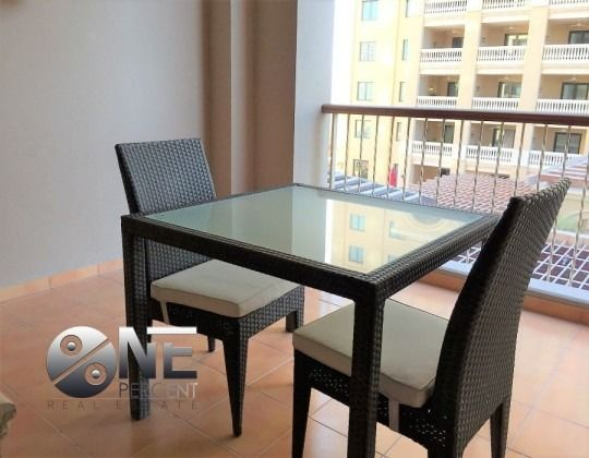 Residential Property Studio F/F Apartment  for rent in The-Pearl-Qatar , Doha-Qatar #7923 - 1  image