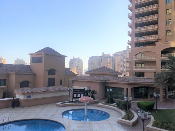Residential Property 2 Bedrooms S/F Apartment  for rent in The-Pearl-Qatar , Doha-Qatar #7992 - 1  image